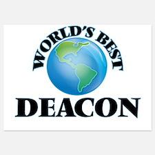 World's Best Deacon Invitations