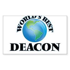 World's Best Deacon Decal