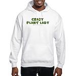 Crazy Plant Lady II Hooded Sweatshirt
