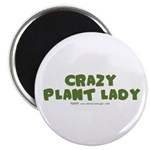 Crazy Plant Lady II Magnet