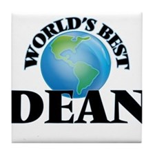 World's Best Dean Tile Coaster