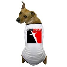 Jesus Rocks! Dog T-Shirt