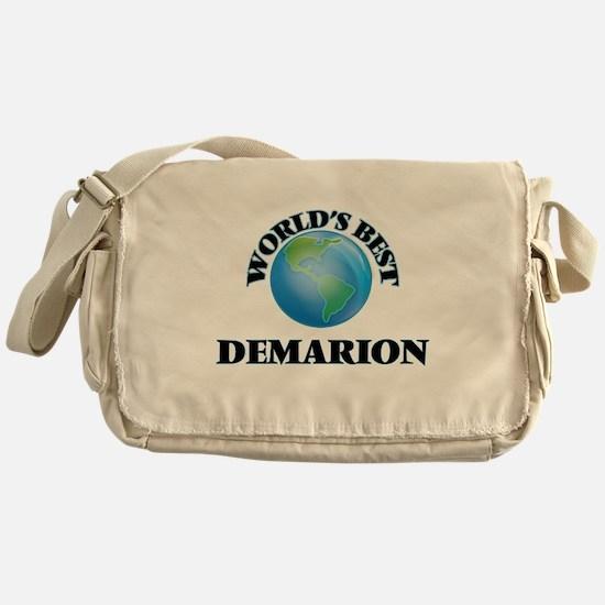 World's Best Demarion Messenger Bag
