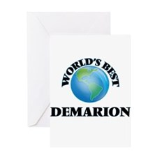 World's Best Demarion Greeting Cards