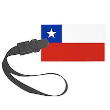 Chile Flag Luggage Tag