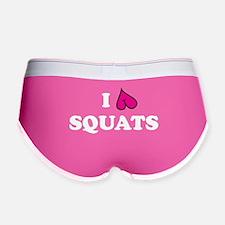 I love squats - drk Women's Boy Brief