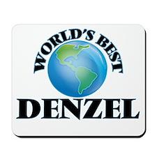 World's Best Denzel Mousepad