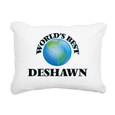 World's Best Deshawn Rectangular Canvas Pillow