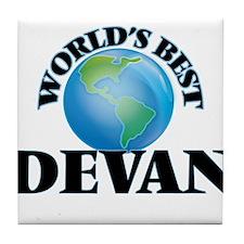 World's Best Devan Tile Coaster