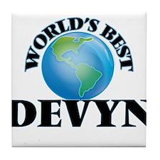 World's Best Devyn Tile Coaster