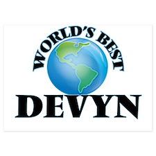 World's Best Devyn Invitations