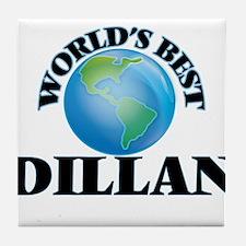 World's Best Dillan Tile Coaster