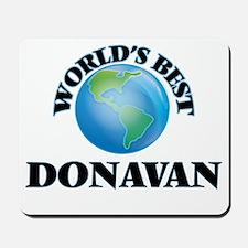 World's Best Donavan Mousepad