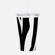 Zebra Striped animal Acrylic Double-wall Tumbler