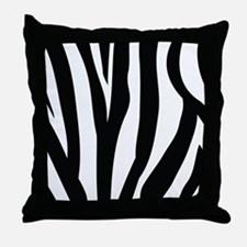Zebra Striped animal Throw Pillow