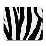 Zebra Striped animal Mousepad