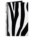 Zebra Striped animal Journal