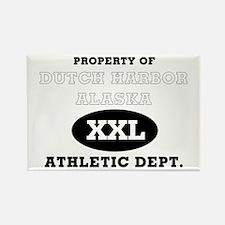 Dutch Harbor Athletic Dept. Rectangle Magnet