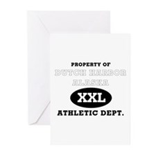 Dutch Harbor Athletic Dept. Greeting Cards (Packag
