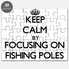 Keep Calm by focusing on Fishing Poles Puzzle