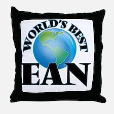 World's Best Ean Throw Pillow