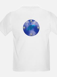 Warp Speed UFO T-Shirt (Front & Back)