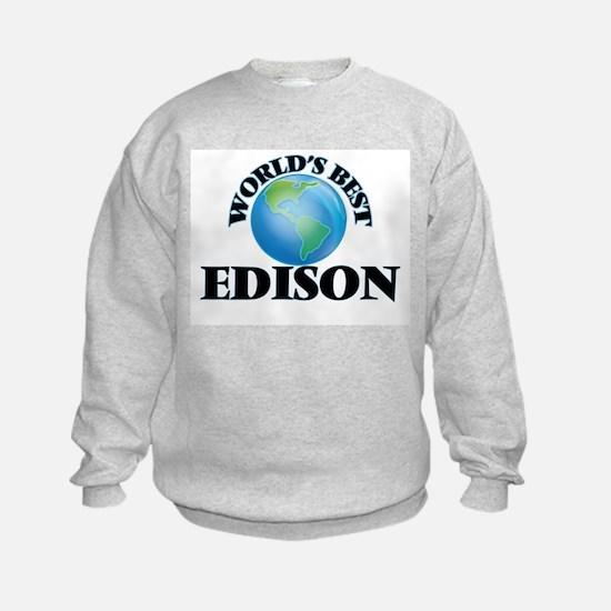 World's Best Edison Sweatshirt