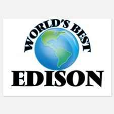 World's Best Edison Invitations
