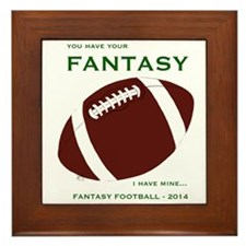 Cute Monday night football Framed Tile