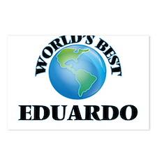 World's Best Eduardo Postcards (Package of 8)