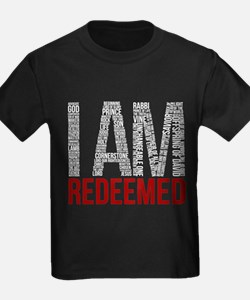 I Am Redeemed - White/Red T-Shirt