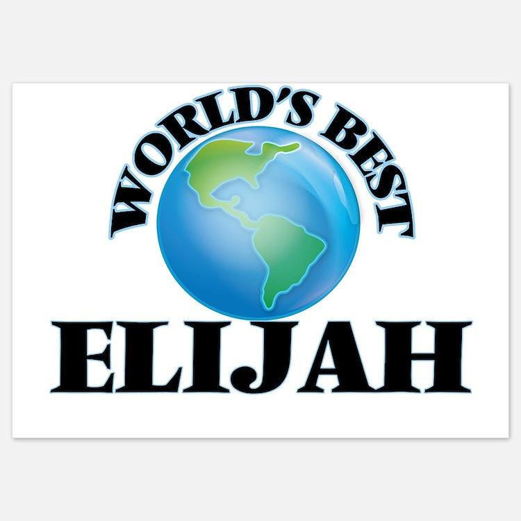 World's Best Elijah Invitations