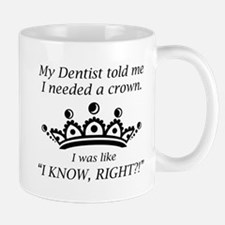 I Needed A Crown Small Small Mug