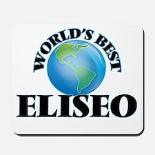 World's Best Eliseo Mousepad