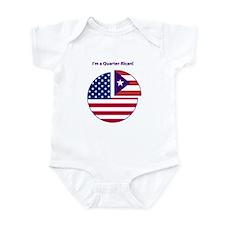 Quarter Rican Infant Bodysuit