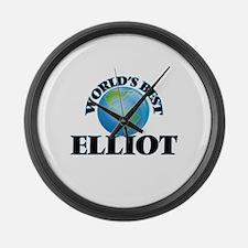 World's Best Elliot Large Wall Clock