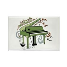 abstract piano Rectangle Magnet
