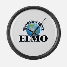 World's Best Elmo Large Wall Clock