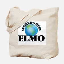 World's Best Elmo Tote Bag