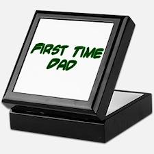First Time Dad Keepsake Box