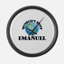 World's Best Emanuel Large Wall Clock