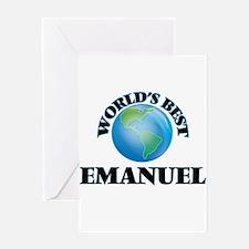 World's Best Emanuel Greeting Cards