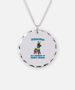 Panatas Are Victims Of Child Abuse Necklace