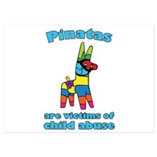 Panatas Are Victims Of Child Abuse 5x7 Flat Cards