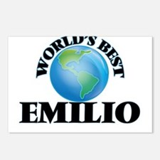 World's Best Emilio Postcards (Package of 8)