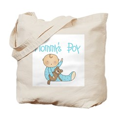 Mommy's Boy Tote Bag