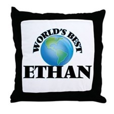 World's Best Ethan Throw Pillow