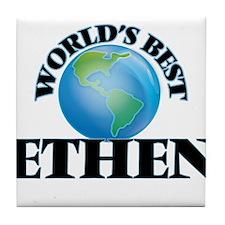 World's Best Ethen Tile Coaster