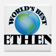 World's Best Ethen Tile Coaster