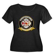 Firefighters Badge T